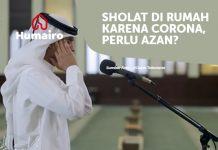 Sholat di rumah karena Corona perlu azan?