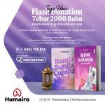 Donasi Tebar 2000 Buku Gratis Seputar Ramadhan dan Corona