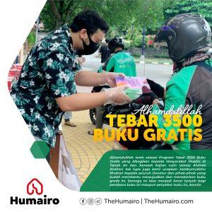 Tebar Buku Gratis TheHumairo